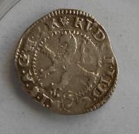Čechy – K. Hora Malý Groš 1594 Rudolf II.