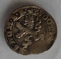 Čechy – K. Hora Malý Groš 1597 Rudolf II.