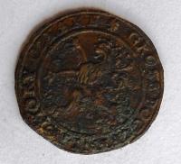 Čechy – K. Hora Početní Groš 1593 Rudolf II.