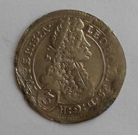 Čechy – Praha 3 Krejcar 1657-1705 Leopold I.