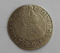 Čechy – Praha 3 Krejcar 1697 Leopold I.
