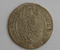 Čechy – Praha 3 Krejcar 1704 Leopold I.