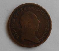 Rakousko 1/2 Krejcar 1781 S Josef II.