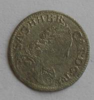 Rakousko 1 Krejcar 1711-40 Karel VI.