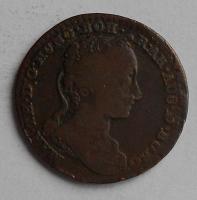 Rakousko 1 Liard 1745 Marie Terezie