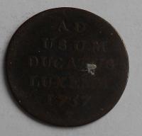 Rakousko 1 Liard 1757 Marie Terezie