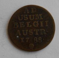 Rakousko 1 Liard 1788 Josef II.
