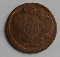 Rakousko 1 Soldo 1755 Marie Terezie