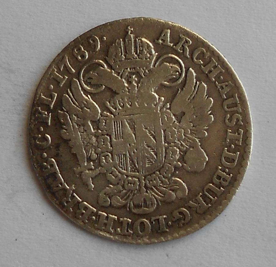 Rakousko 14 Liard 1789 Josef II.
