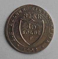 Rakousko 15 Soldi 1802 F František II.