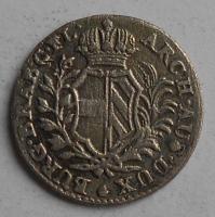 Rakousko 2 1/2 Sols 1750 Marie Terezie