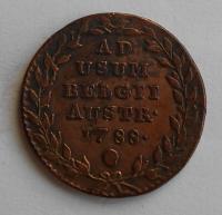 Rakousko 2 Liard 1788 Josef II.