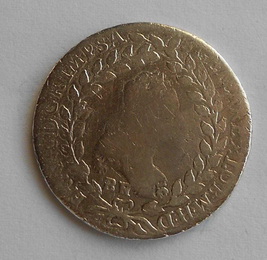 Rakousko 20 Krejcar 1765 František Lotrinský, spona