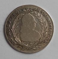 Rakousko 20 Krejcar 1770 Marie Terezie