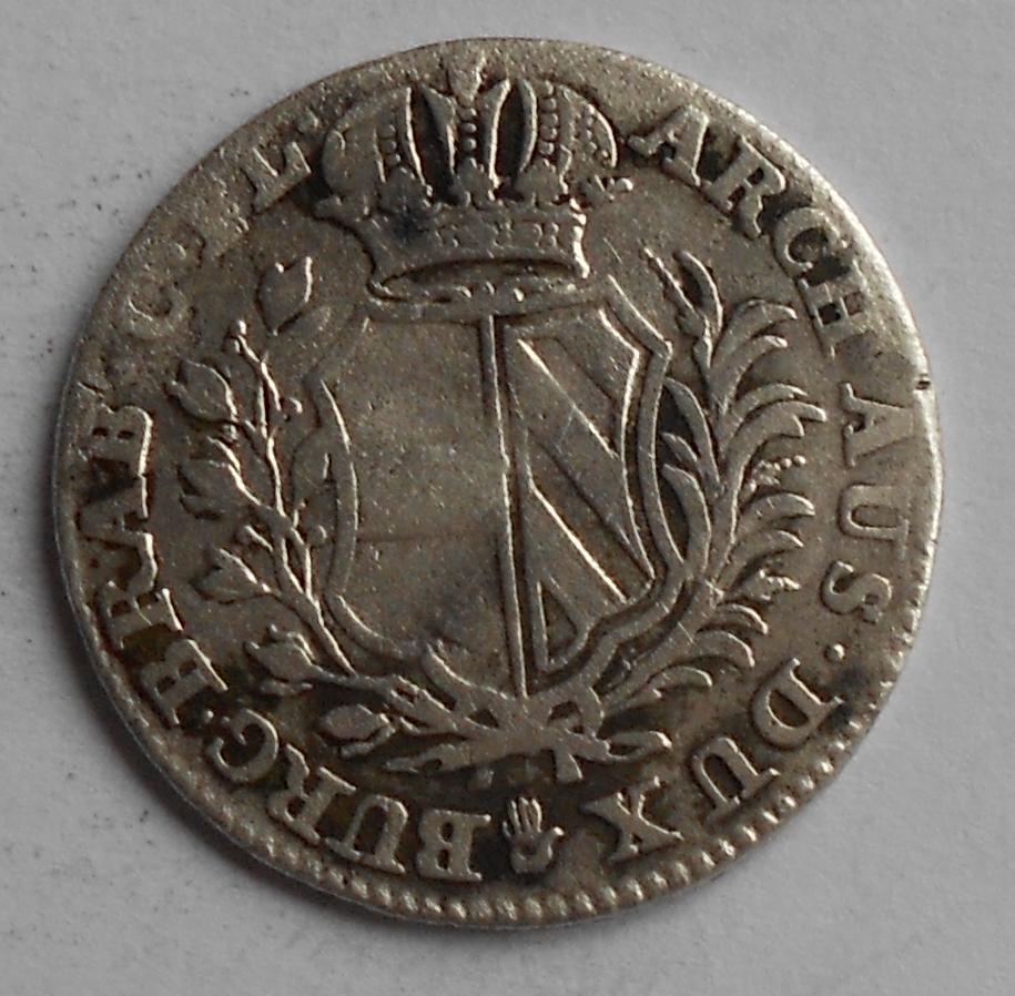Rakousko 5 Sols 1751 Marie Terezie