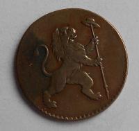 Rakousko – Belgické povstání 2 Liard 1790 František II.