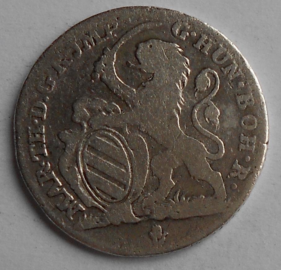 Rakousko Escalin 1752 Marie Terezie