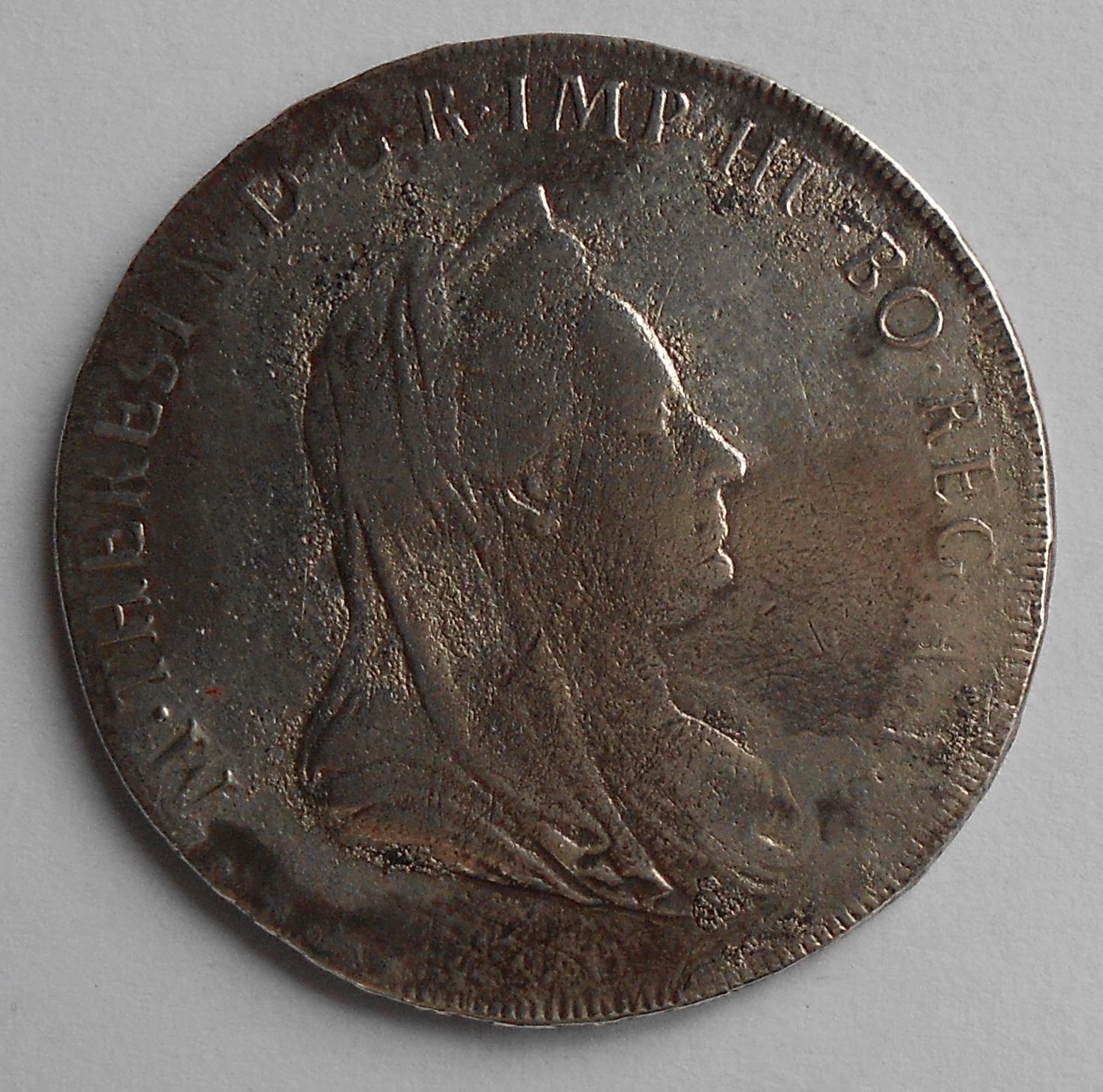 Rakousko Scudo 1780 Marie Terezie