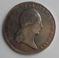 Rakousko Tolar 1794 M František II., měl ouško