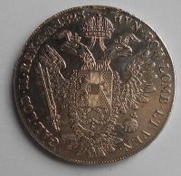 Rakousko Tolar 1828 A František II., měl ouško