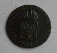 Uhry 1/4 Krejcar 1860 S František II.