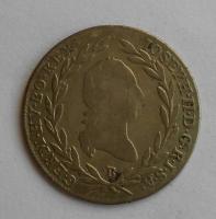 Uhry 10 Krejcar 1789 B Josef II.