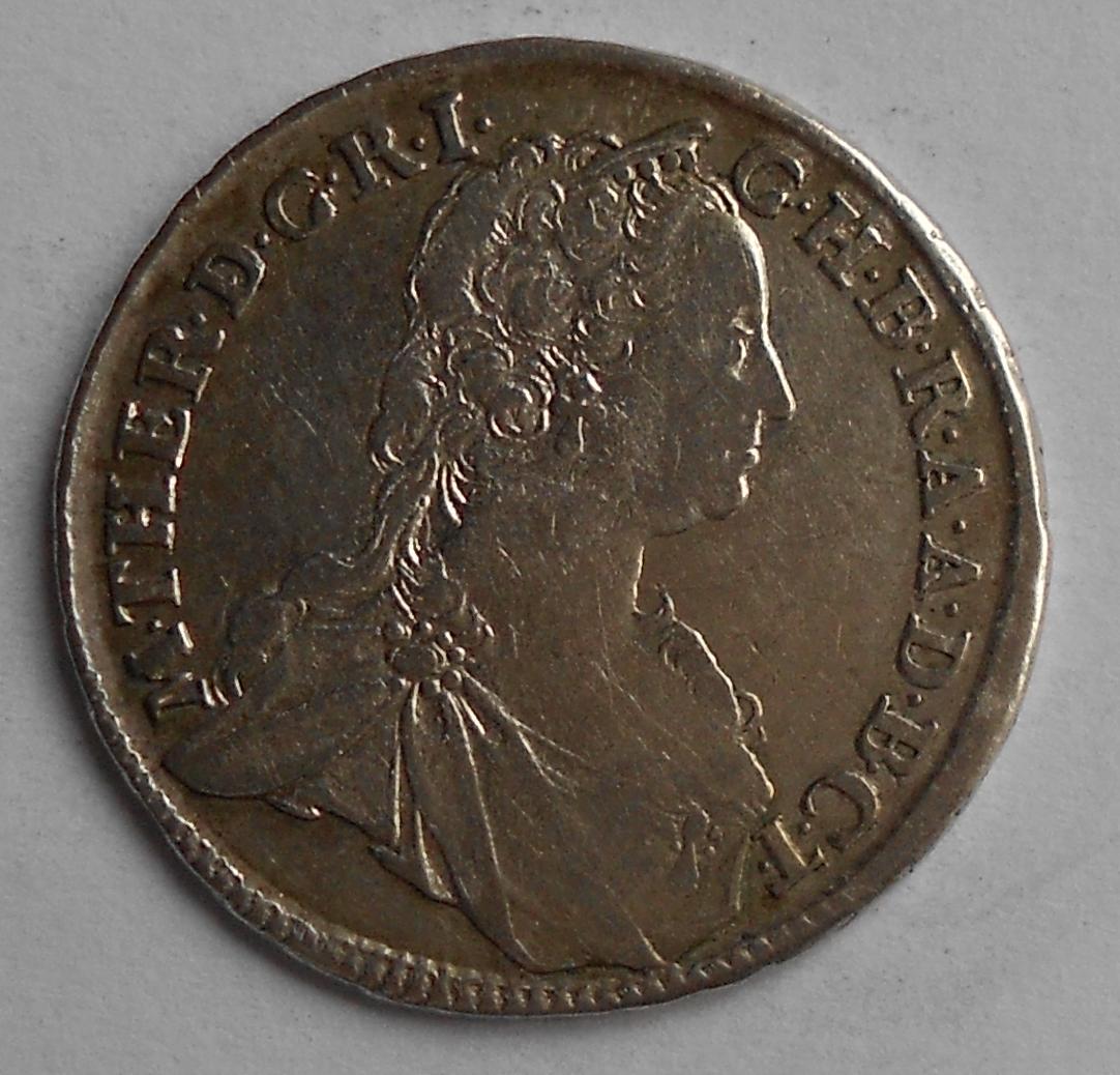 Uhry 15 Krejcar 1748 KB Marie Terezie