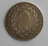 Uhry 20 Krejcar 1785 B Josef II.
