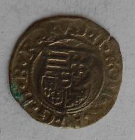 Uhry Denár 1580 KB Rudolf II.