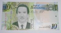 Botswana 10 Pula, president