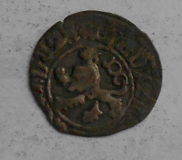 Čechy Bílý peníz 1471-1516 Vladislav Jagellonský, jednostranná
