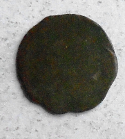 Čechy Černý peníz 1516-26 Ludvík I. Jagellonský, jednostranná