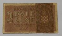 Chorvatsko 2 Kuna 1942
