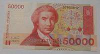 Chorvatsko 50 000 Chorvat. Dinár