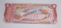 Dominikánská republika 5 Pess, anulát