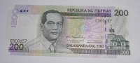 Filipíny 200 Piso 2002
