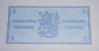 Finsko 5 Markkaa 1963
