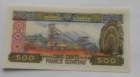 Guinea 500 Cent 1960