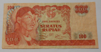 Indonésie 100 Rupie 1968