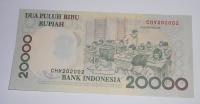 Indonésie 20 000 Rupie 1998