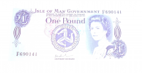 Isle od Man 1 Pounds Alžběta II.