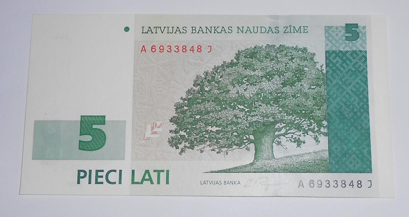Litva 5 Lati 2001
