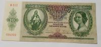 Maďarsko 10 Pengo 1936