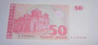 Makedonie 50 Denár 1991