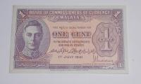Malaya 1 Cent 1941