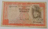 Malaysie 10 Ringit, panovník