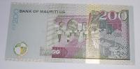 Mauritius 200 Rupess 2001