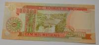 Mozambik 100 000 Meticais 1993