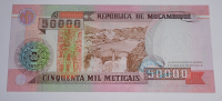 Mozambik 50 000 Meticais 1993