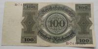 Německo 100 RM 1924 Platná na našem území Ro171